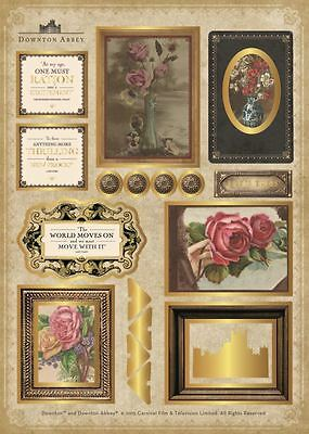 Crafter's Companion Downton Abbey Decorative Collection - A4 Toppers - Set 1