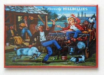 "THE BEVERLY HILLBILLIES side B Metal LUNCHBOX   2"" x 3"" Fridge MAGNET ART"