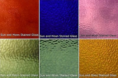 Stained Glass Variety Pack 6 Sheets 8x10 Random Colors