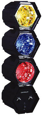 KARMA DJ 318LED - KIT TRE LUCI PSICHEDELICHE COLORATE a Leds