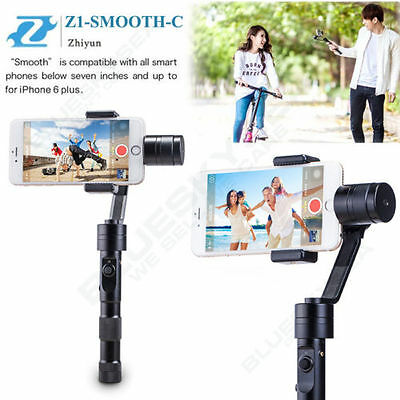 Zhiyun Z1-Smooth-C 3-Axis Joystick Control Handheld Steady Gimbal for Cellphones