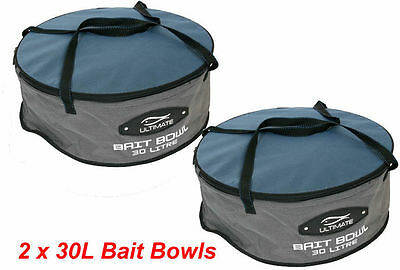 Fishing Mixing Bowls  2 Ultimate  Bait Bowl Mixing Bowl Groundbait Bowl (Ul2538)