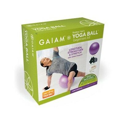 Yoga Kit - Gymball + Guantes + Dvd + Strap + Inflador