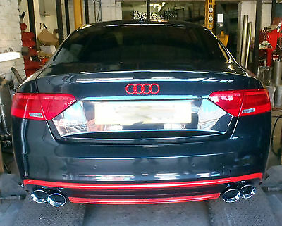 Audi S5 Custom stainless steel cat back exhaust system