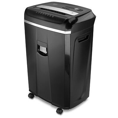 Aurora AU2025XA 20-Sheet Professional Cross-Cut Paper /CD /Credit Card Shredder