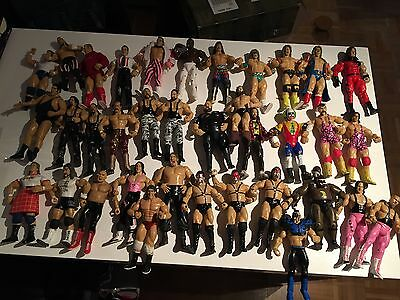 WWE Jakks Figuren von Hart Demolition Steiner Bushwackers Warrior Wrestling