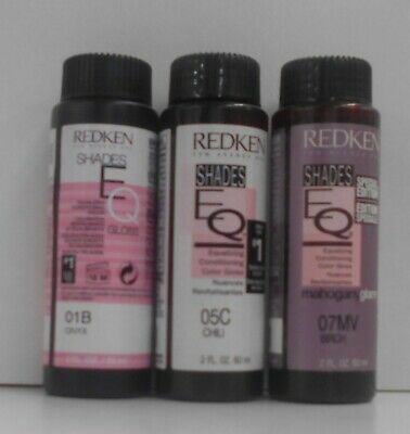 Redken SHADES EQ Professional Liquid Gloss Hair Color (Levels 1 - 7) ~ 2 fl oz!!