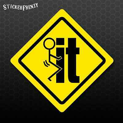 F*ck It Hard Hat Sticker PACK #HH021 Funny Vinyl Decal Tool box Decal