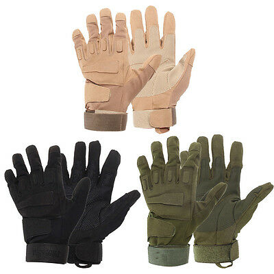 Military Airsoft Hunting Motorcycle Cycling Army Tactical Full Finger Gloves