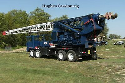 LDH-55 Pressure Digger drill rig auger drilling truck pier pile hole caisson
