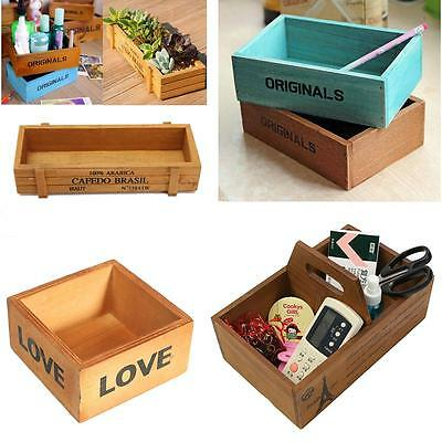 Antique Vintage Rustic Handmade Crates Trugs Kitchen Storage/Wooden Boxes