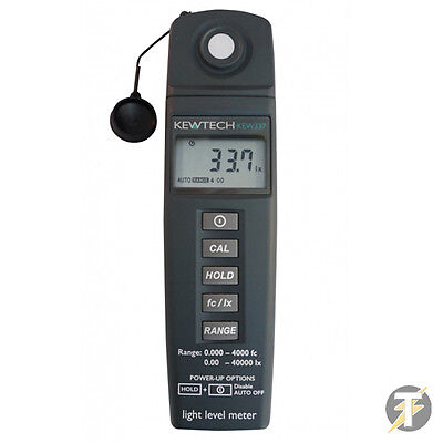 Kewtech KEW337 Light Level Environmental Meter Up to 40000 Lux (4000 FC)
