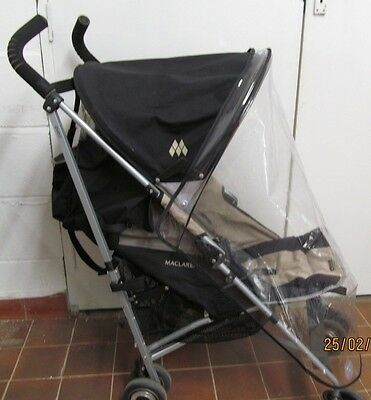Brand New Rain Cover to fit the MACLAREN QUEST DENIM PUSHCHAIR 142Q