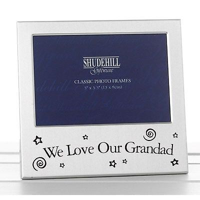 We Love Our Grandad Photo Frame Birthday Christmas Fathers day Gift Memories