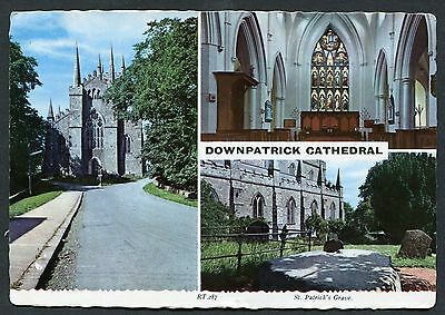 Multiviews of Downpatrick Catehdral - St.Patrick's Grave . Posted 1969