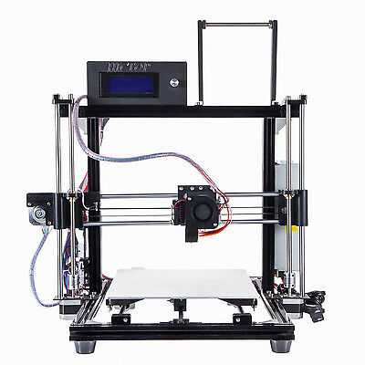 HICTOP Aluminum Self assembly 3D Printer Reprap Prusa i3 with LCD OK for SD card