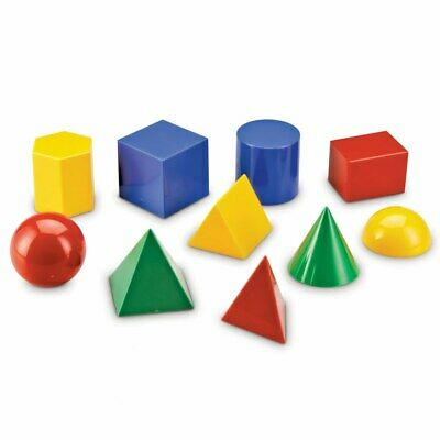 Large Geo Shapes (Set of 10)