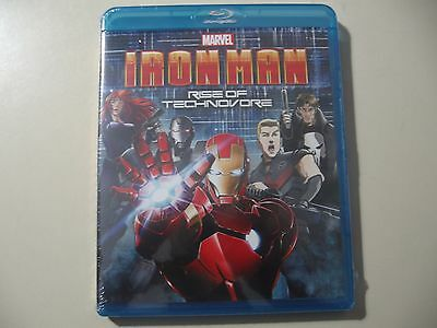 Iron Man: Rise of Technovore (Blu-ray Disc, 2013) Brand New & Sealed