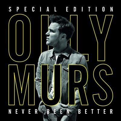 Never Been Better - Olly Murs (Special  Album with DVD) [CD]