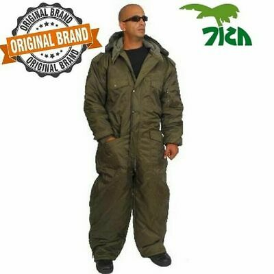 IDF Israel Olive Cold Weather Hermonit Winter Gear Coverall water proof XL