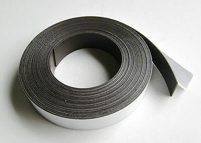 """Neoprene Rubber Strip Adhesive Back One Side PSA 1/8"""" Thick x 1"""" wide x 10' 65A"""