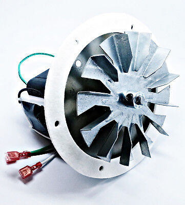 """Magnum Countryside Combustion Exhaust Pellet Stove Motor Fan Kit + 5"""" FAN PADDLE"""
