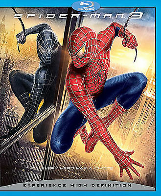 Spider-Man 3 (Blu-ray Disc, 2007, widescreen 2-Disc Set) Brand New and Sealed