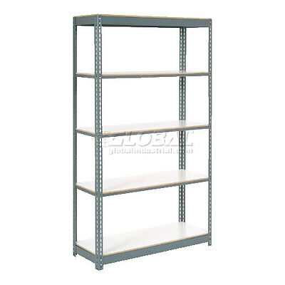 """Extra Heavy Duty Shelving 36""""W x 12""""D x 84""""H With 5 Shelves, 1500 lbs. Capaci..."""