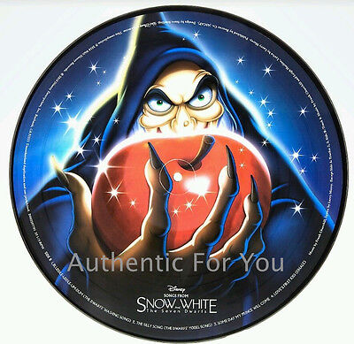 NEW Disney Parks Vinyl Record Collection Music from SNOW WHITE (PICTURE DISC)