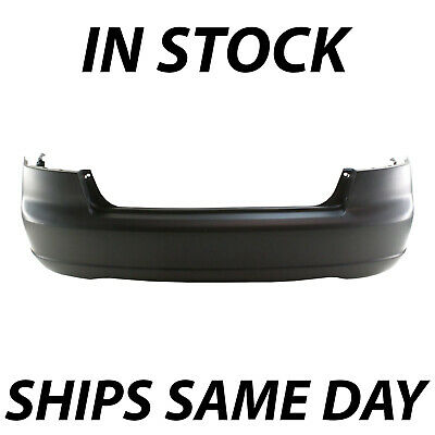 NEW Primered - Rear Bumper Cover Fascia for 2001-2003 Honda Civic Sedan & Hybrid