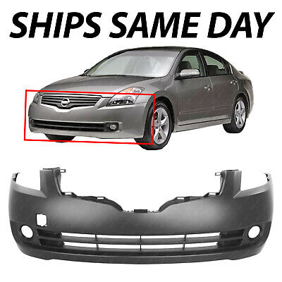 NEW Primered - Front Bumper Cover Fascia for 2007-2009 Nissan Altima Sedan 07-09