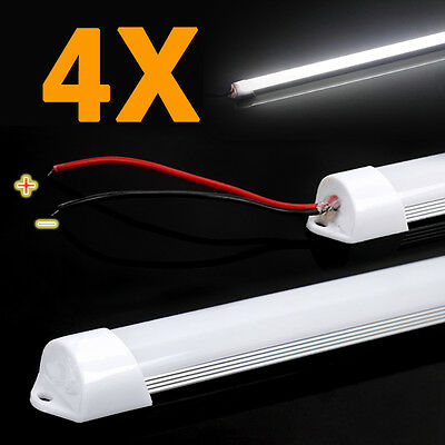 4X 12V 50Cm Led Strip Light Bars Caravan 4Wd Camping Fishing Boat Camper Tent