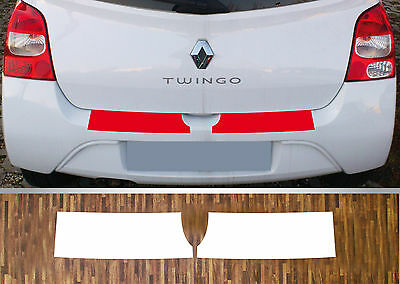 Lackschutzfolie Bumper protection clear Renault Twingo 2, Year 07-14