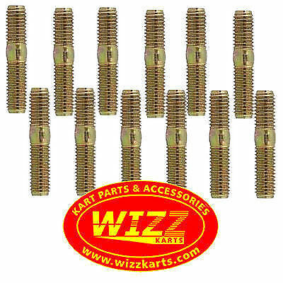 Pack of 12 High Quality M8 Wheel Studs FREE POSTAGE WIZZ KARTS