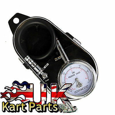 KART 0 - 60 Psi Tyre Pressure Gauge with Case Very Accurate Best Price in the UK