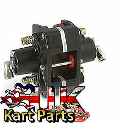 KART Italian Brake Hydraulic Caliper with Pads Black Best Price On Ebay