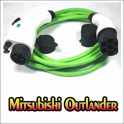 Mitsubishi Outlander PHEV FAST Charge Cable J1772 Type 1 to Type 2