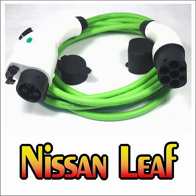 Nissan Leaf EV FAST Charge Cable J1772 Type 1 to Type 2