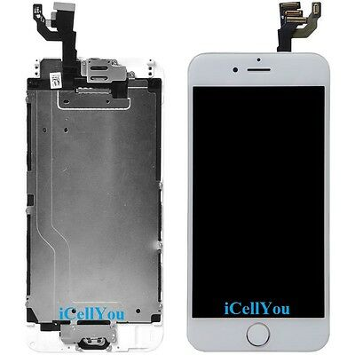 """White LCD Touch Screen Display Digitizer Replacement for iPhone 6 Plus 5.5"""" Gold"""