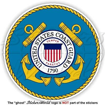 US COAST GUARD Siegel USCG United States Armed Forces Amerikanische Aufkleber
