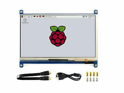 Waveshare 7 inch Raspberry Pi Display 1024x600 capacitive Touchscreen LCD HDMI