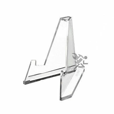 """2.25"""" Mini Clear Acrylic Display Stand Easels Qty: 6"""