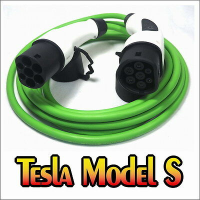 Tesla Model S FAST Charge Cable Mennekes Type 2 to Type 2