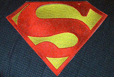 Superman Embroidered Chest Emblem Logo Cosplay Dean Cain version