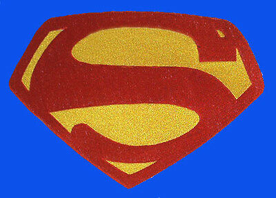 Superman Embroidered Chest Emblem Logo Cosplay George Reeves (Color) version