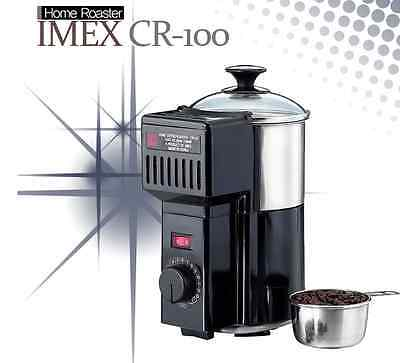 IMEX Home Electric Coffee Roaster CR-100 Automatic Bean Roasting Cooler 220V