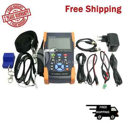 3.5inch Touch Screen IP Camera CCTV Tester Support ONVIF Video Recorder WIFI