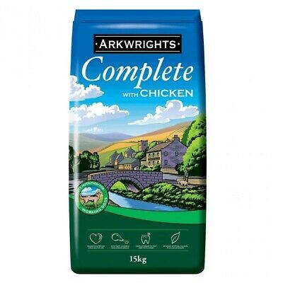 Arkwrights Adult Complete Chicken 15kg - Sporting & Working Dog Food