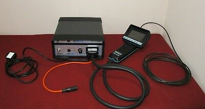 GE Everest Light source, borescope kit XL240LSB Fiberscope Videoscope TESTED!