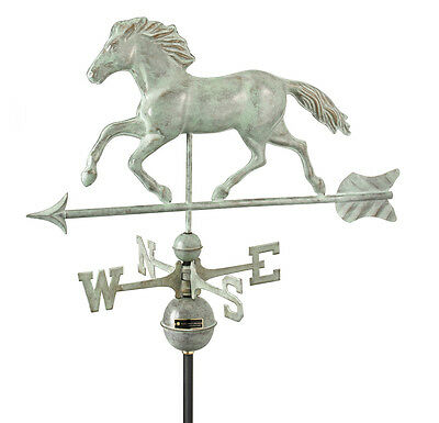 Large Horse Verdigris Weathervane